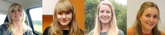 Anne-Claire Masselink • Alana Koerts • Willeke van der Vliet-de Wit • Sanne Beers